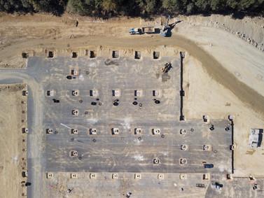 Photo de suivi de chantier btp par drone à Châteauroux, Indre 36