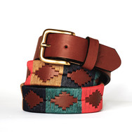 Polo gaucho leather belt from Argentina Classic
