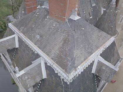 Inspection photo de toiture par drone pour préparation de chantier à Châteauroux, dans l'Indre 36
