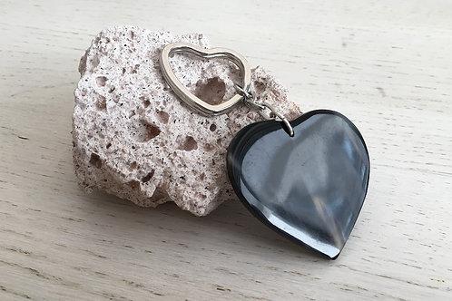 Horn key ring HEART