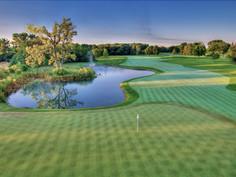Photo et vidéo par drone d'un parcours de golf à Limoges, Haute Vienne 87