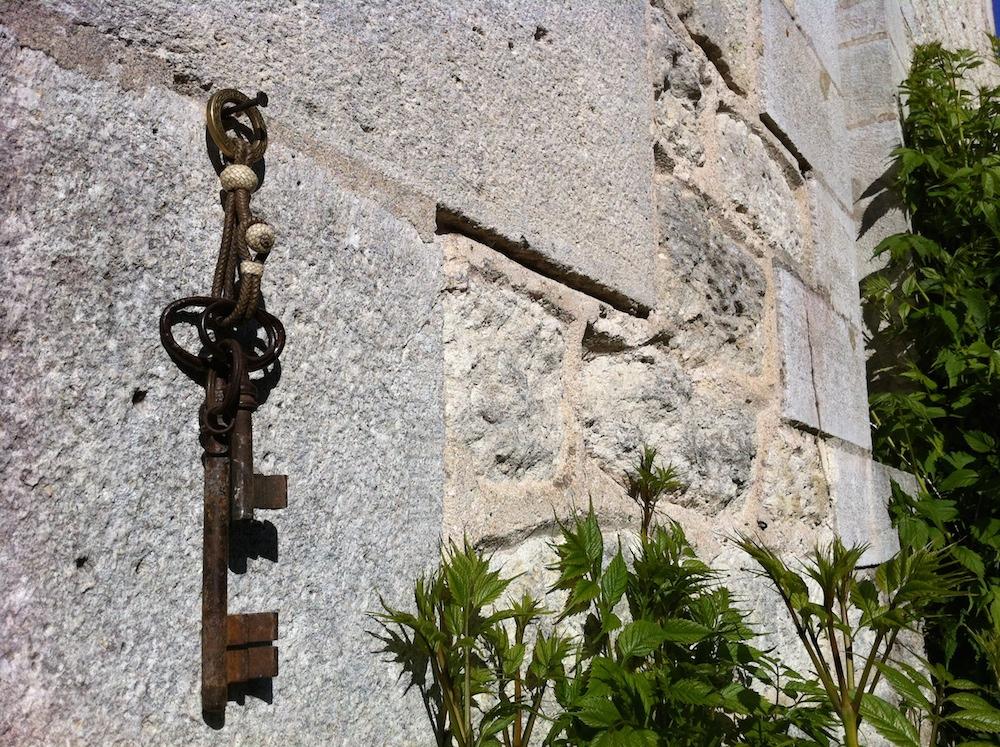 Gaucho leather key ring