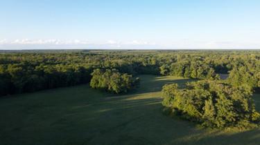 Photo par drone de la campagne près de Niort, dans les Deux Sèvres 79