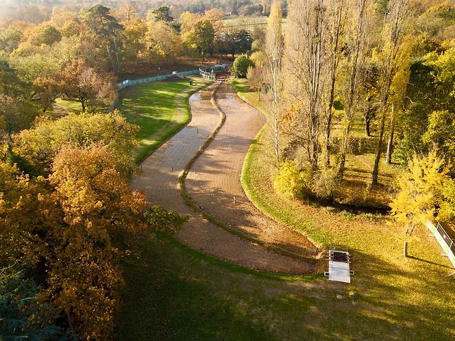 Photo Beaufort Drone Bois de Boulogne Paris