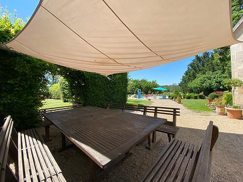 Salon de jardin appareil grand angle Poitiers