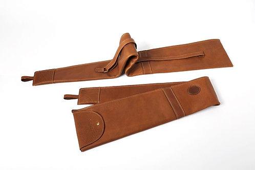 Non lined supple leather sheath GUN RIFLE