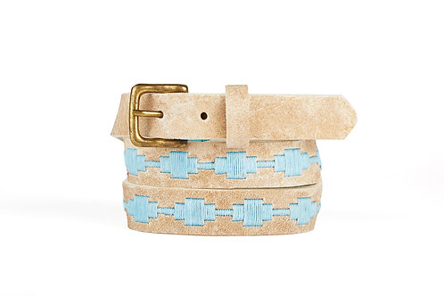 SKY, Argentina Polo Belt, Raw leather, Women