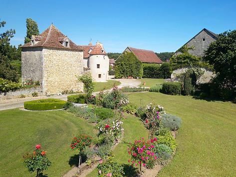 Gîte de France dans l'Indre 36 photo par drone