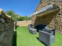 Terrasse appareil grand angle Poitiers