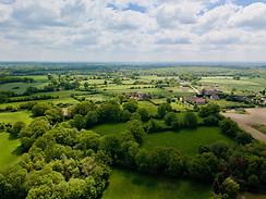 Beaufort Drone photo paysagère territoire campagne Berry Indre Chateauroux Cher Vierzon Bourges