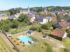 Photo par drone à Poitiers dans la Vienne 86 pour une agence immobilière