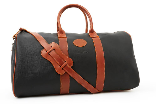 Travel bag BLACK LEATHER