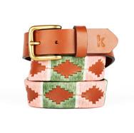 er belt from Argentina Pink Green White