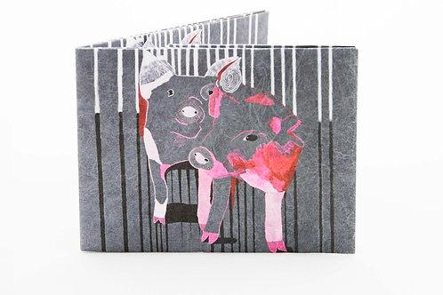 Tyvek paper wallet PIGS