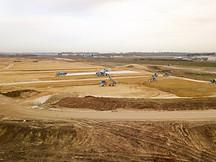 Suivi de chantier par drone en Poitou-Charentes