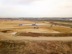 Photo en drone pour suivi de chantier à Angoulême, en Charente 16