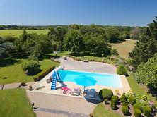 Gîte de France dans l'Indre `36 photo drone immobilier