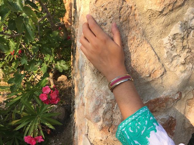 Alpaca silver bracelet from Argentina ra