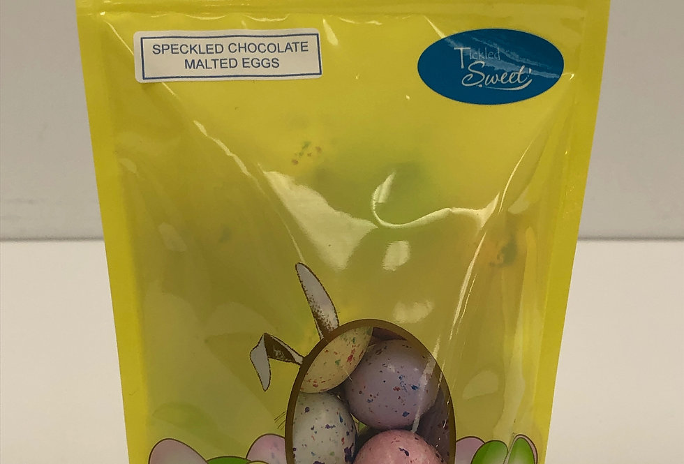 Speckled Chocolate Malted Eggs