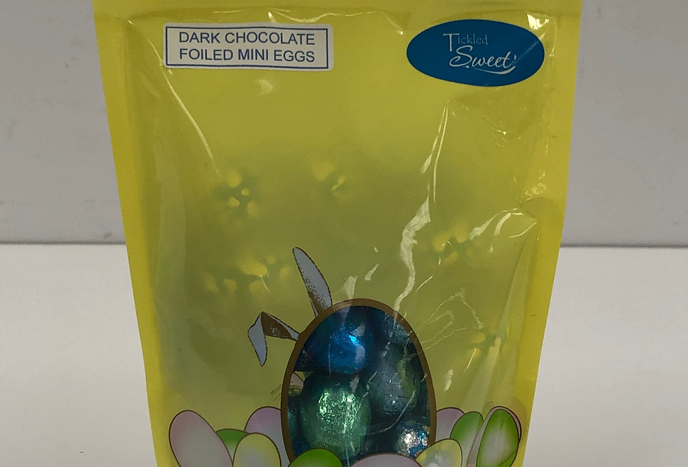 Dark Chocolate Foil Eggs