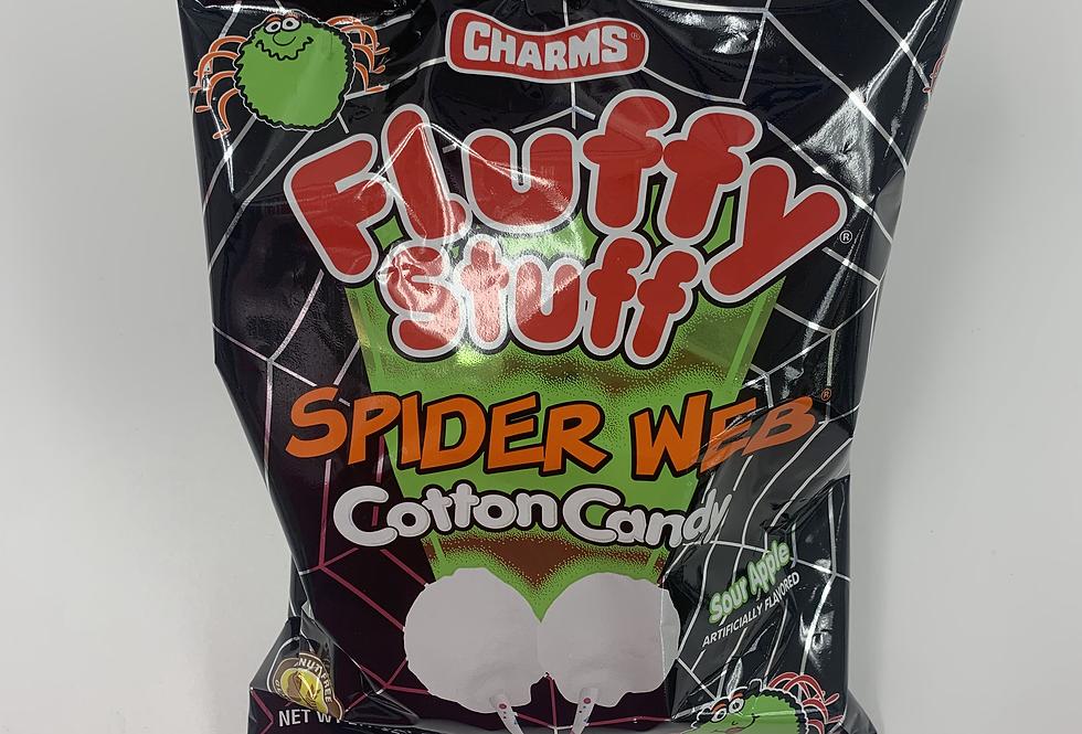 Spider Web Cotton Candy