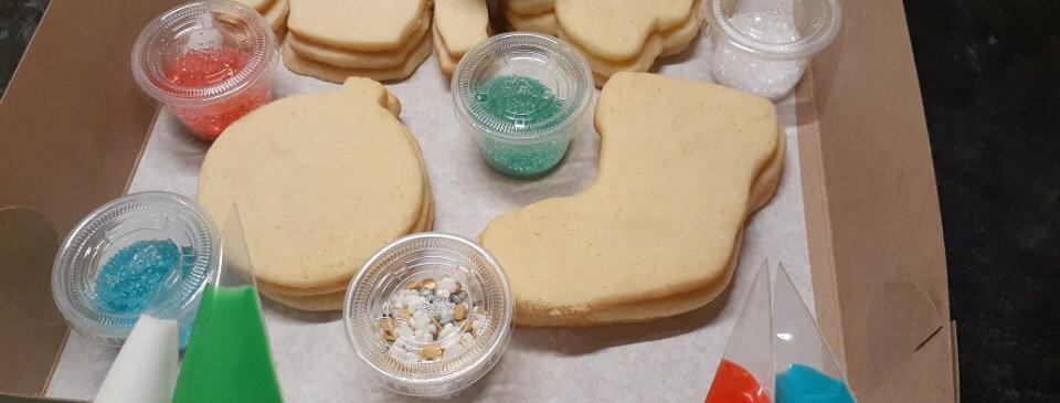 Christmas Cookie Decorating Kits