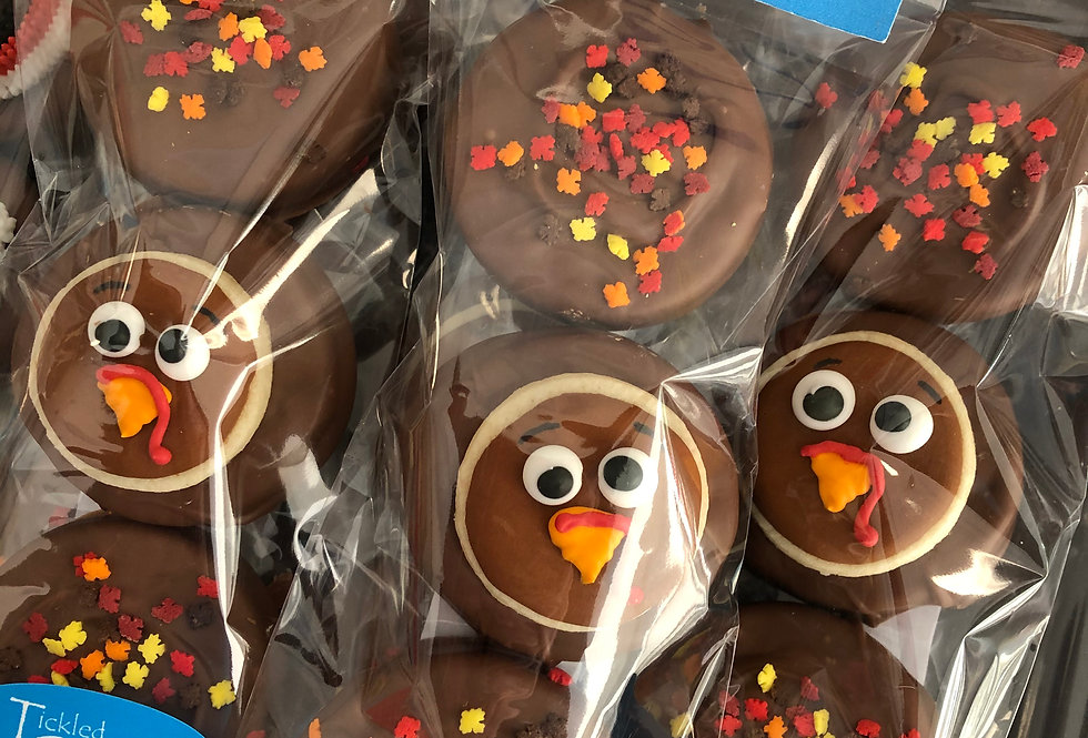 Thanksgiving Chocolate Dipped Oreos
