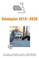 Beleidsplan 2016 - 2020
