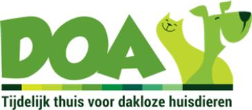 Logo DOA dierenopvang Amsterdam