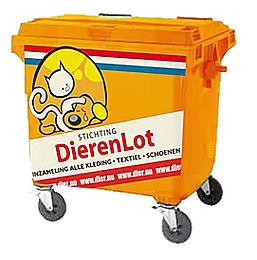 DierenLot kleding container