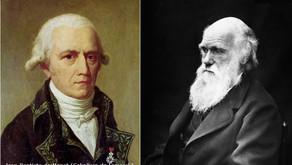 A herança de caracteres adquiridos como oposição entre Lamarck e Darwin