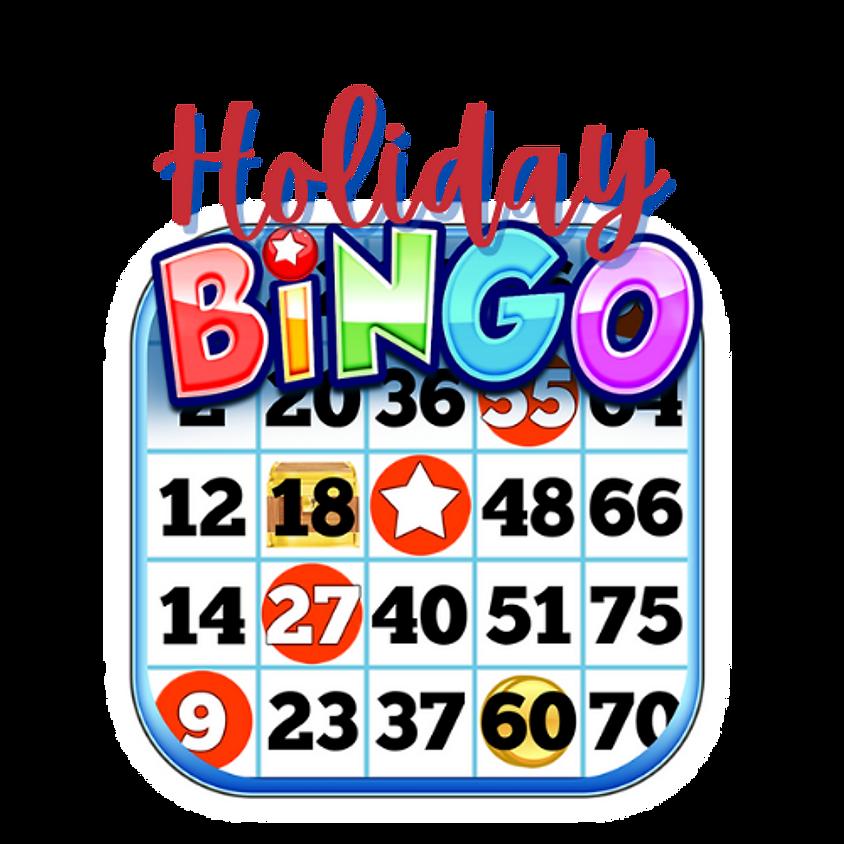 Holiday Bingo - Saturday PM