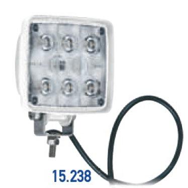 ΠΡΟΒΟΛΕΑΣ ΑΔΙΑΒΡΟΧΟΣ 9 LED 2000LM 10-30V