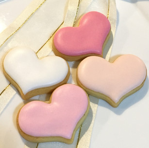 Cute love heart cookies for any occasion