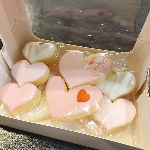 Valentine's Day lemon cookies - medium box