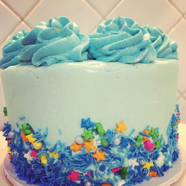 Classic celebration cake