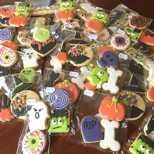 Halloween Mixed Cookie Packs
