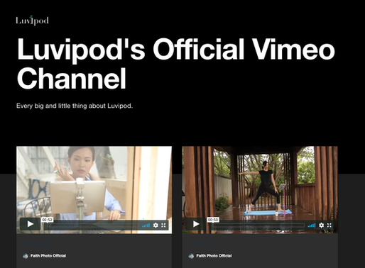 Our Official Video Channels are UP!