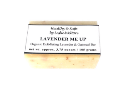 Lavender Me Up (Organic Exfoliating Lavender & Oatmeal Soap Bar)