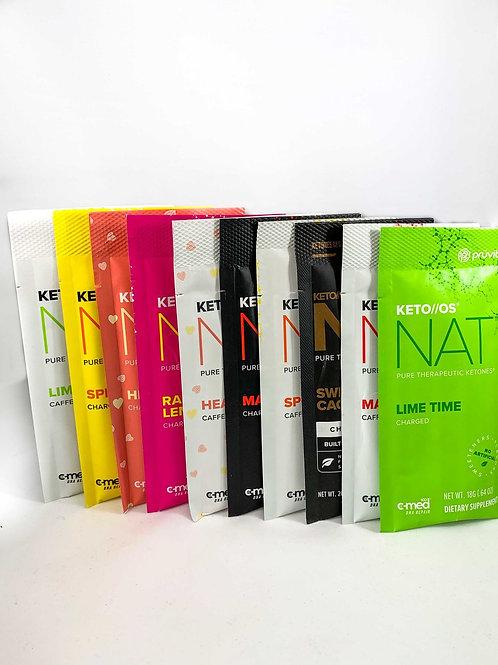 10 Packet Flavor Sample - Keto NAT