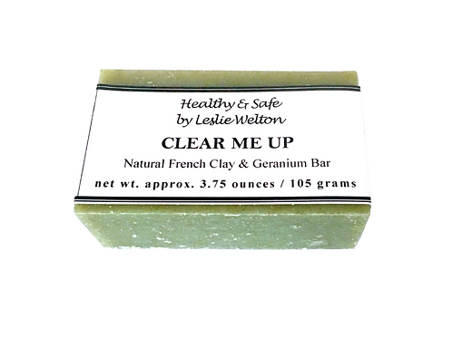 Clear Me Up (Natural French Clay & Geranium Soap Bar)