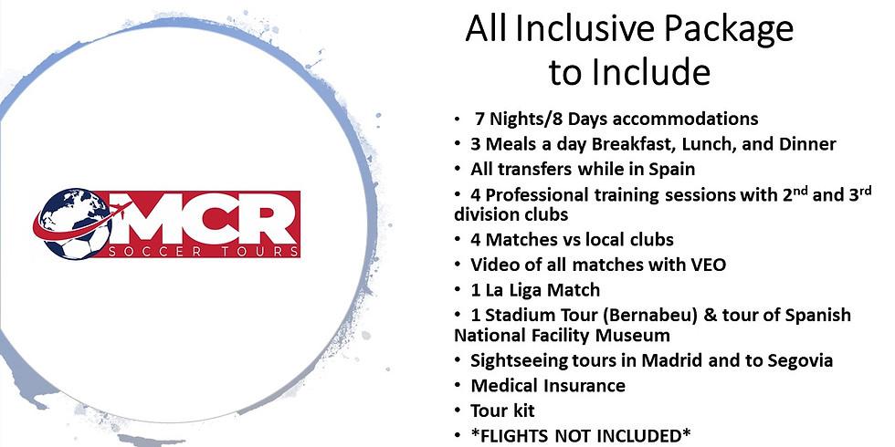 MCR Winter Player Development Tour