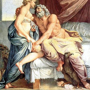 Júpiter y Juno