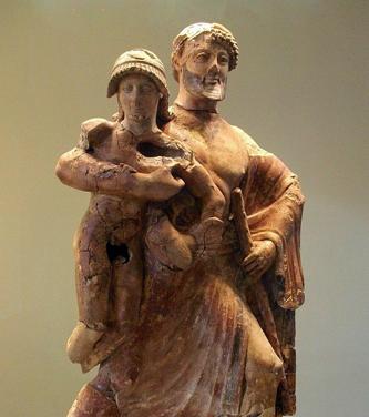 Zeus y Ganimedes