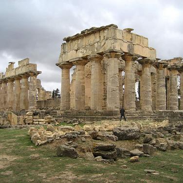 Templo de Zeus en Cyrene