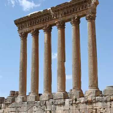 Templo de Jupiter en Baalbek