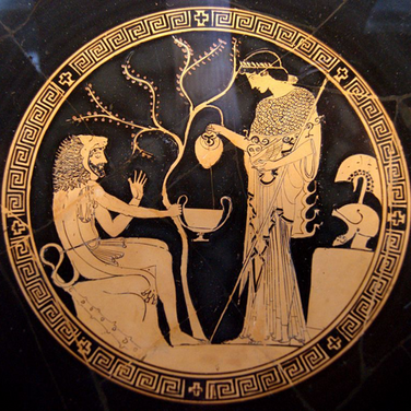 Atenea y Heracles