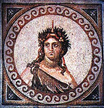 Mosaico de Dionisio