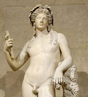 Dionisio escultura romana