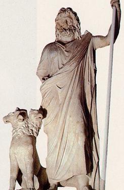 Hades con Cerbero